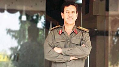 العقيد الراحل عبدالوهاب المقري آمر اللواء التاسع بالجيش الوطني