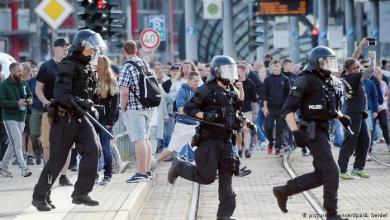 مظاهرة يسارية ضد اليمين المتطرف في مدينة كيمنتس الألمانية - أرشيفية DW