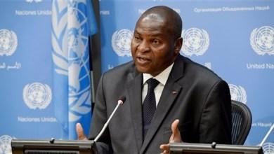 رئيس جمهورية أفريقيا الوسطى فوستان ارشانج تواديرا