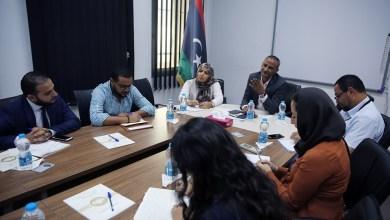 نحو ايجاد حل للنازحين داخل المدارس جراء الحرب في طرابلس