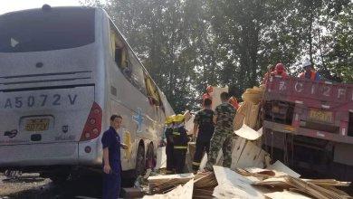 36 قتيلاً في الصين إثر اصطدام حافلة بشاحنة