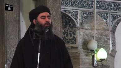 زعيم داعش أبوبكر البغدادي