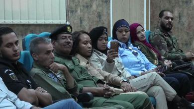 ندوة في بنغازي حول ظاهرة الرصاص العشوائي نظمتها المنظمة الوطنية لأمازونات ليبيا