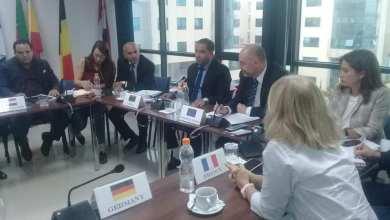 داخلية الوفاق تجتمع مع سفير الاتحاد الأوروبي لدى ليبيا