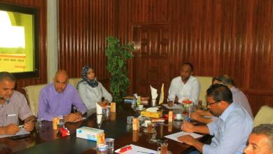 المجلس التسييري جالو يعقد اجتماعا مع لجنة الصحة وإدارة الخدمات الصحية