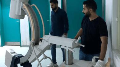 مركز طبرق الطبي يستلم جهاز التصوير المقطعي من صحة المؤقتة