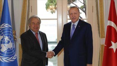 أردوغان - غوتيرش