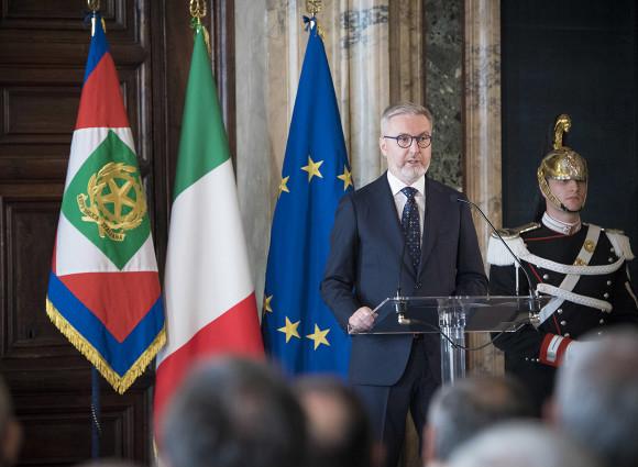 وزير الدفاع الإيطالي لورينزو غويريني- إرشيفية
