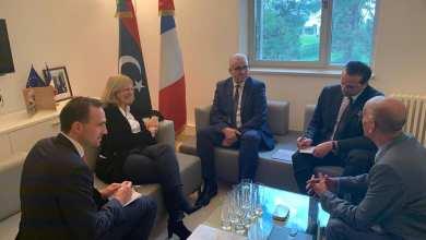 باشاغا يلتقي السفيرة الفرنسية لدى ليبيا في تونس