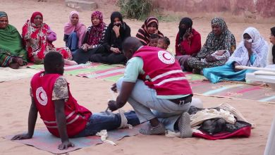 """""""إسعاف في كل بيت """" حملة ينظمها الهلال الأحمر فرع غات"""