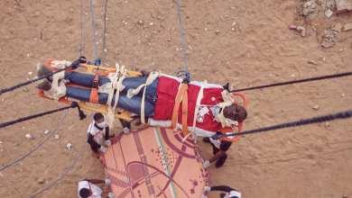 الهلال الأحمر غات ينفذ مناورة تدريبية لعمليات الإنقاذ