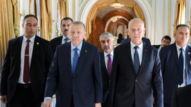 سعيّد وأردوغان يطالبان بوقف إطلاق النار في ليبيا بأقرب وقت ممكن