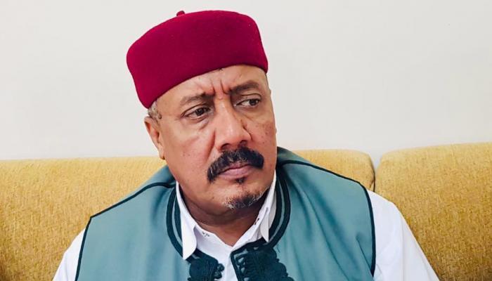 الشيخ السنوسي الحليق