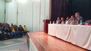 وزارة تعليم الوفاق تحاور طلاب الشهادة الثانوية في طرابلس