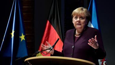 المستشارة الألمانية أنغيلا ميركل: حظر الأسلحة على ليبيا التزام إقليمي ودولي