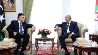 السراج يبحث مع الرئيس الجزائري مستجدات الأوضاع في ليبيا