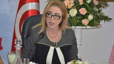 وزيرة الصحة التونسية سنية بالشيخ