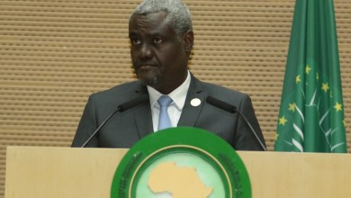رئيس مفوضية الاتحاد الأفريقي موسى فكي محمد