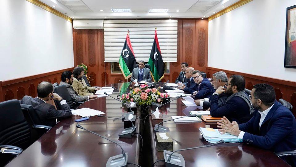 لجنة متابعة الأحكام الصادرة ضد الأصول والأموال الليبية بالخارج