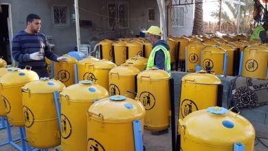 فرقة هون للعمل التطوعي تدخل المرحلة الثانية من إعادة تدوير سخانات المياه