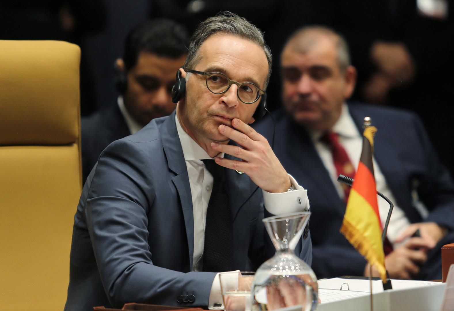 وزير الخارجية الألماني هايكو ماس- إرشيفية