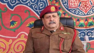 قائد عمليات المنطقة الغربية في الجيش الوطني اللواء المبروك الغزوي