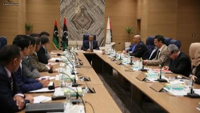 الحكومة الليبية- إرشيفية