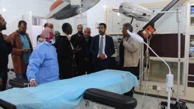 العيضة يتفقد مستشفى تازربو لمتابعة المشاريع الصحية الجديدة
