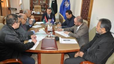 وكيل وزارة الداخلية بحكومة الوفاق عميد خالد مازن يجتمع بالفريق التنسيقي