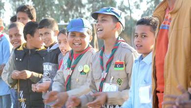 كشافة جالو يحتفون بالذكرى 66 لتأسيس الحركة في ليبيا