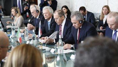 الوفد الروسي في القمة المشتركة مع إيطاليا