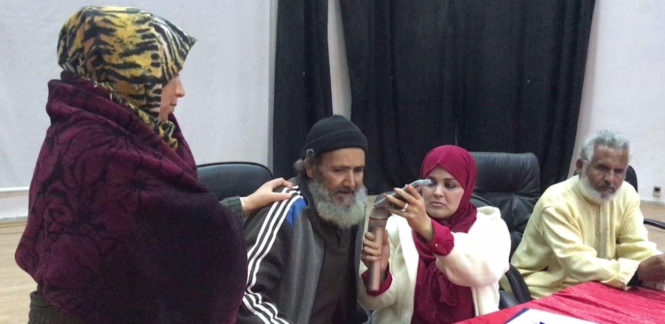 والد أحد الأسرى في مداخلة هاتفية بالاجتماع مع الدكتورة سامية اسحاق منسقة الأمم المتحدة بالشرق الأوسط