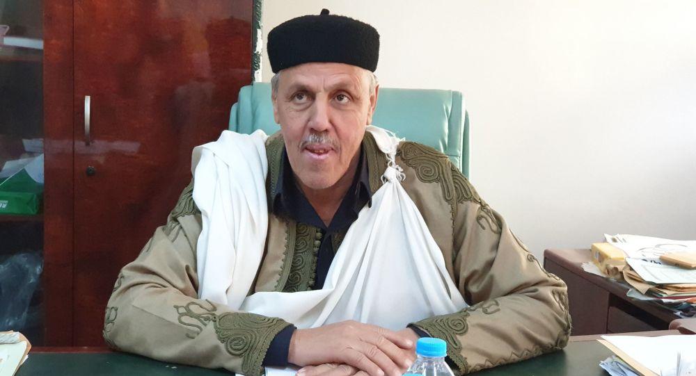 """صالح الفاندي - """"رئيس مجلس مشايخ وأعيان القبائل الليبية"""" في حوار مع وكالة سبوتنيك الروسية للأنباء"""