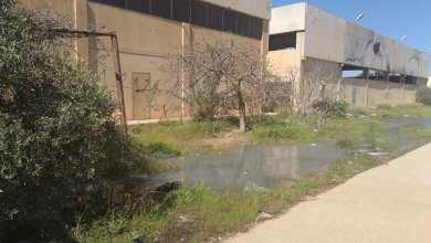 مياه الصرف الصحي تتسرب لداخل مخازن جهاز الامداد الطبي في بنغازي