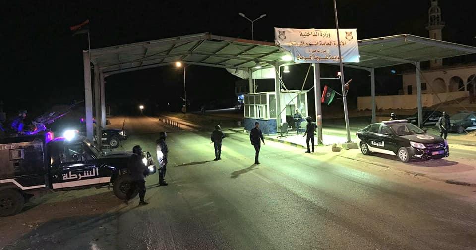 طرابلس .. الدعم المركزي يكثف دورياته بمناطق متفرقة بــ تاجوراء