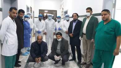 بنغازي .. وزارة الصحة تتفقد مستشفى الكويفية للأمراض الصدرية