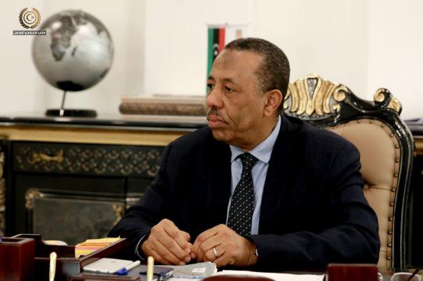 رئيس الحكومة الليبية عبدالله الثني