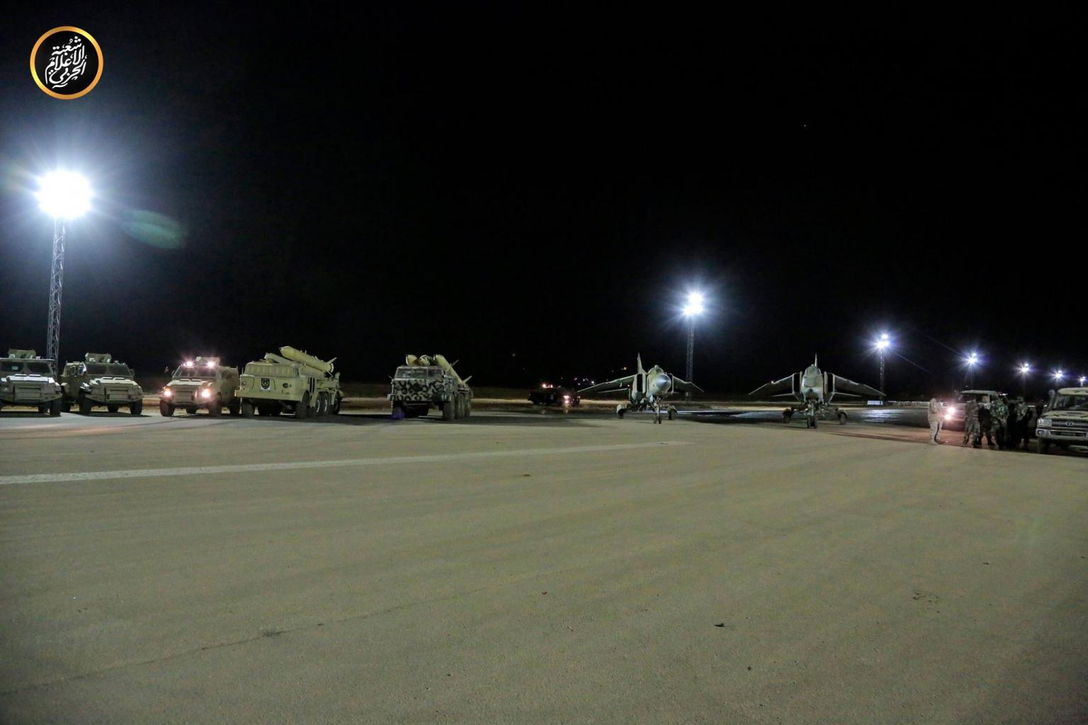 المسماري: قوات الدفاع الجوي للجيش الوطني تسقط طائرتين مسيرتين تركيتين
