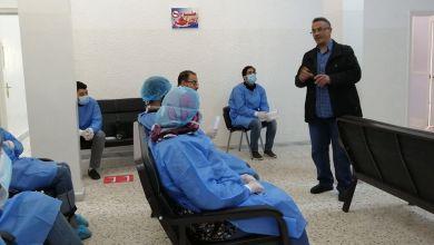 الخدمات الصحية بمدينة البيضاء تنظم حلقة نقاش حول كورونا