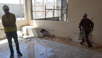 قرب الانتهاء من اتمام بناء المركز الصحي شهداء الدامور ببلدية بوسليم في مدينة طرابلس