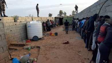 داخلية الوفاق تضبط مهاجرين غير قانونيين في القره بوللي