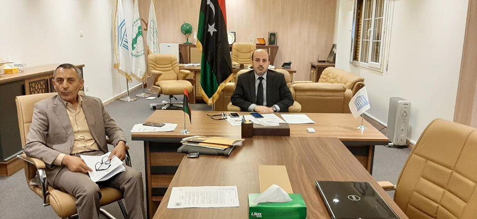 وزير التعليم بحكومة الوفاق محمد عماري زايد يشارك في اجتماع أفريقي رفيع المستوى حول مجابهة جائحة كورونا