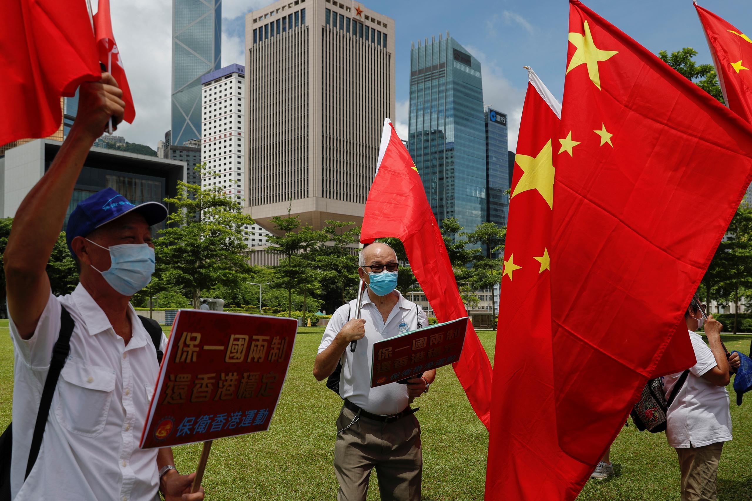 مجلس الشعب الصيني يقر بالاجماع قانون الأمن القومي لهونغ كونغ