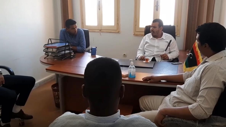 هُموم الشباب على طاولة بلدي وادي عتبة