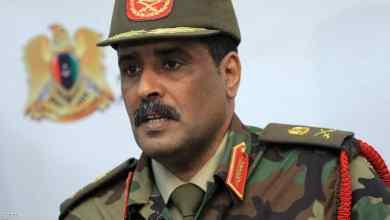 اللواء أحمد المسماري-الناطق باسم القائد العام للجيش الوطني