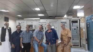 لملودة .. تشغيل الوحدة الثالثة بمحطة الكهرباء الغازية