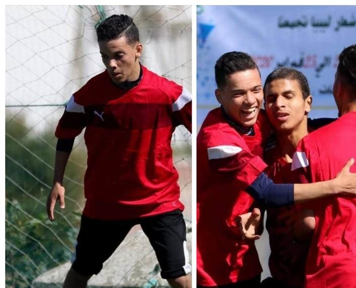 نادي رفيق بمدينة صرمان يعلن عن اختطاف اللاعب عدي عون في ظروف غامضة
