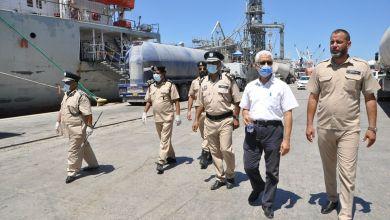 جولة تفقدية لمنفذ ميناء طرابلس البحري ضمن االاحترازات من تفشي كورونا