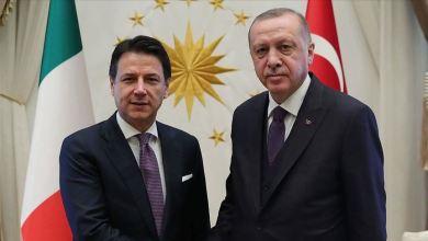 أردوغان يتوافق مع رئيس الوزراء الإيطالي جوزيبي كونتي على حل سياسي للأزمة الليبية