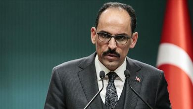 المتحدث الرئاسة التركية إبراهيم قالن